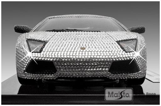 Adorned With 7668 Actual, Authentic, CRYSTALLIZED Swarovski Elements, The  Lp640 CSE Is Packed In A Opening Leatherette Case With Blue Felt Insert.  The Car ...