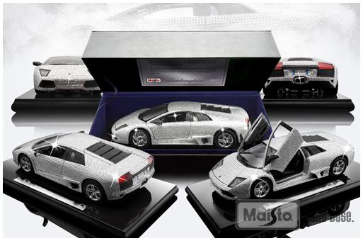 1/18 Lamborghini Murcielago LP640 Made With CRYSTALIZED Swarovski Elementsu2026  |