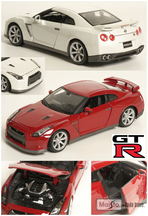 Maisto 1:24 Nissan GT-R, #31294