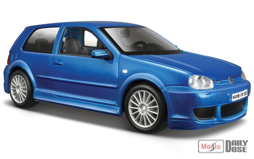 new color 1 24 special edition the volkswagen golf r32. Black Bedroom Furniture Sets. Home Design Ideas